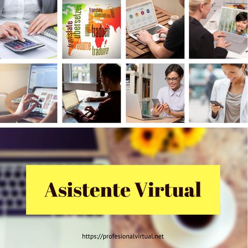 Asistentes Virtuales prestando distintos servicios