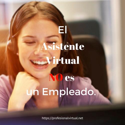 El Asistente Virtual no es un empleado